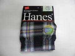 即決 Hanes  ヘインズ トランクス 前開き Lサイズ�B