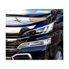 トヨタ ヴェルファイア 30系35系  クロームメッキ コーナーライトリング  ランプ ウインカーリング