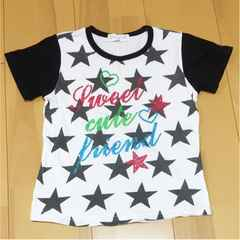 Tシャツ  星柄Tシャツ