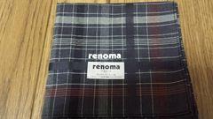 超激安  正規品  未使用  renoma(レノマ)  ハンカチ