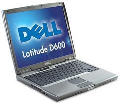 美品DELLデルlatitude14.1インチSXGA+高解像度D600ノートPC