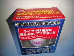 EXILE TETSUYAブザー メンプロ 2009 Monster ツアーレア?新品THE SECOND