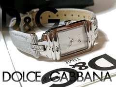 【箱・購入証明付】極美品 1スタ★ドルガバ/D&G 上品な腕時計