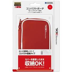 ☆任天堂公式ライセンス商品 コンパクトポーチ 3DS レッド