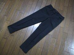 ○Theory○セオリークロップドパンツ 黒XX0 Strech Canvas