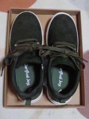新品Carnival Joyスニーカー紐靴、緑色24�p