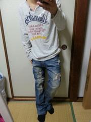 KEARNEY  HOUSE / ロゴ入り長袖シャツ