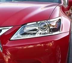 レクサス メッキヘッドライトリング GS250GS350GS450h Fスポーツ