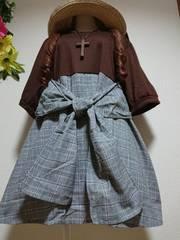 ★新品タグ10L★重ね着風プルオーバー¥5389