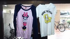 """新品☆未使用♪ミニーちゃんトレーナー&プーさんのTシャツ""""M""""size"""