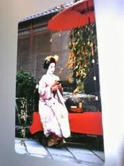 京都.舞妓テレフォンカード未使用。