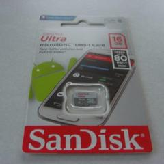 SanDisk 16GB 高速Class10 microSDHC