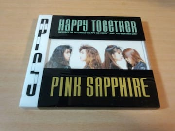ピンクサファイアCD「ハッピー・トゥゲザー」PINK SAPPHIRE●
