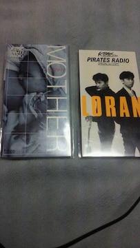 地方限定!LORAN「PIRATE RADIO」CDシングル2枚セット☆