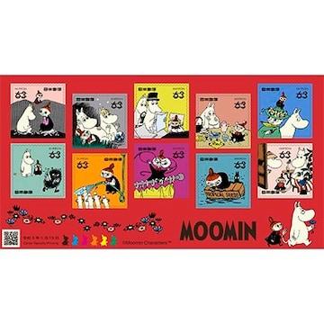 2021年 ムーミン 63円切手