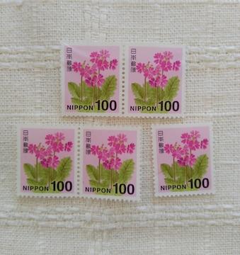 未使用切手 100円5枚