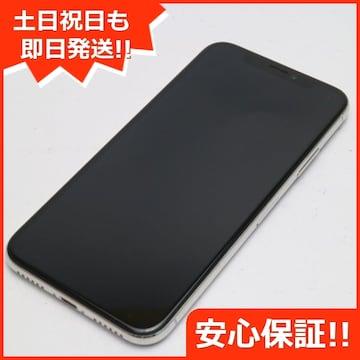●安心保証●美品●SOFTBANK iPhoneX 64GB シルバー●