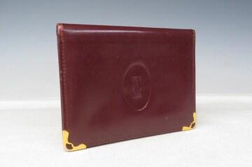 Cartier カルティエ パスケース カードケース