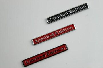 3色より選択LIMITED EDITION エンブレム