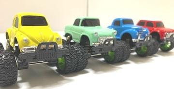4種類から選択 オフロードミニカーtype2 ゼンマイ チョロQ