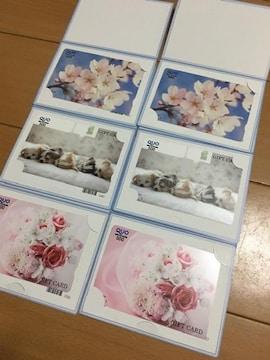 ★新品未使用 QUOカード 500円×6枚 まとめ売り★