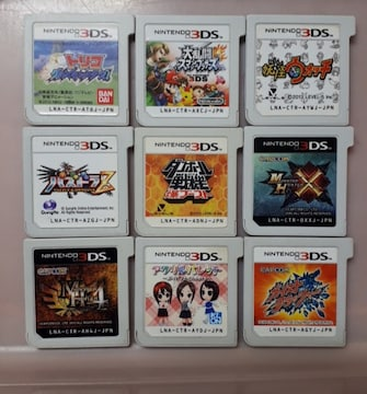 3DSソフト9本詰め合わせ福袋