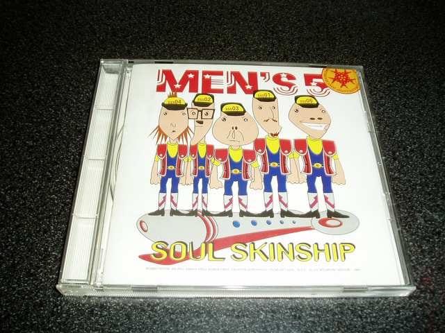 CD「メンズ5(MEN'S 5)/SOUL SKINSHIP」宴会ソング  < タレントグッズの