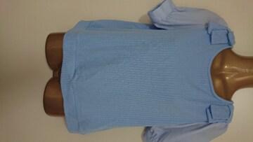 レイカズンF女子アナTシャツ水色リボン