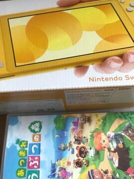 新品未開封 Nintendo Switch Lite イエロー どうぶつの森セット