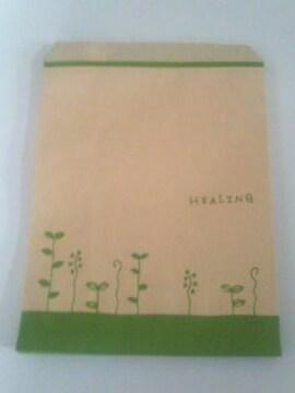 R50サイズ平袋☆ハーブリーフ20枚★A5が入る紙袋