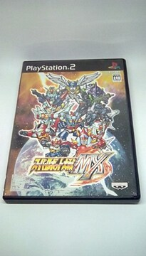 PS2 スーパーロボット大戦 MX / プレイステーション2 スパロボ シミュレーションケRPG
