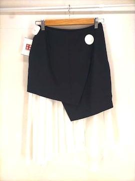 ENFOLD(エンフォルド)プリーツレイヤード調スカートスカート