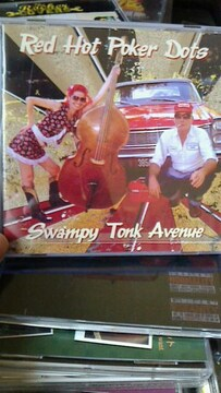 RED HOT POKER DOTS/SWAMPY TONK AVENUEロカビリーカントリークリームソーダ