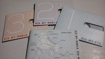 KIS-MY-WORLD(初回A 2CD+DVD)/KIS-MY-FT2