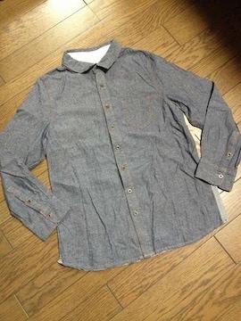 美品TK MIXPICE デザインデニムシャツ タケオキクチ
