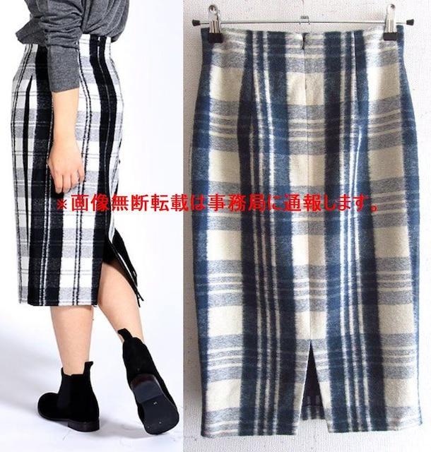 新品 オニールオブダブリン チェック ペンシル スカート < ブランドの