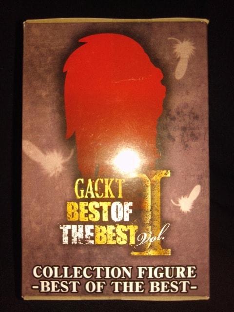 ■GACKTコレクションフィギュア〜BEST OF THE BEST〜■ < タレントグッズの