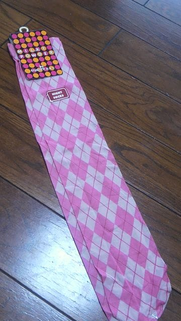 【新品即決】TOKYO SHIBUYA◆薄手ハイソックス◆定価1500円 < 女性ファッションの