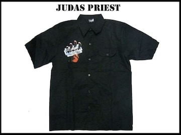 ジュダスプリストバンドローク(L)Judas Priest半そでシャツ