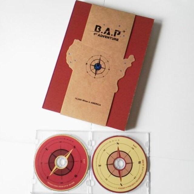 レア【廃盤】B.A.P★アメリカ横断ドキュメンタリーDVD2枚組付き写真集★デヒョン  < タレントグッズの