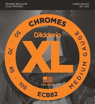 ダダリオ ベース弦 フラットワウンド .050-.105 ECB82