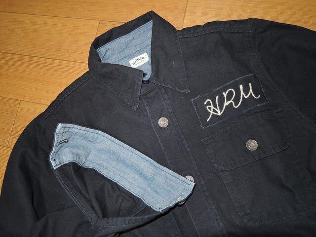 ハリウッドランチマーケットHRMシャツジャケット1ハリラン切替 < ブランドの