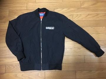 中古アディダスMA-1黒MジャケットADIDAS