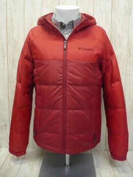 即決☆コロンビア 特価 ダウン ジャケット RED/L ターボダウン ハイスペック防寒
