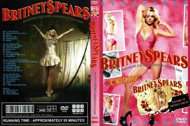 BRITNEY SPEARS MADISON SQUARE 2009 ブリトニー  < タレントグッズの