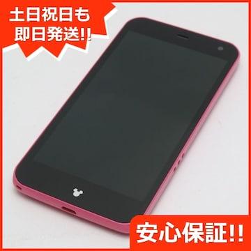 ●安心保証●新品同様●F-03F Disney Mobile ピンク●白ロム