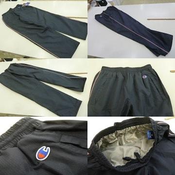 送料込(M 紺)チャンピオン★ウィンドブレーカーパンツ C3JSD20 裏地暖か素材