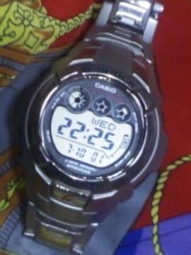 カシオ本物GショックG-7100Dメタルデジタル液晶腕時計