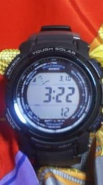 カシオプロトレックジャパンモデルPRW-2000タフソーラー電波腕時計二層液晶