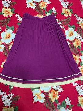 LILY BROUN☆鮮やか紫☆フリースカート☆